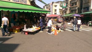 Street side markets