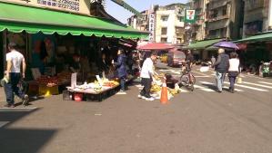 Street side markets