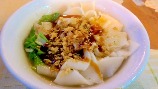 Taiwanese noodles at Shifen
