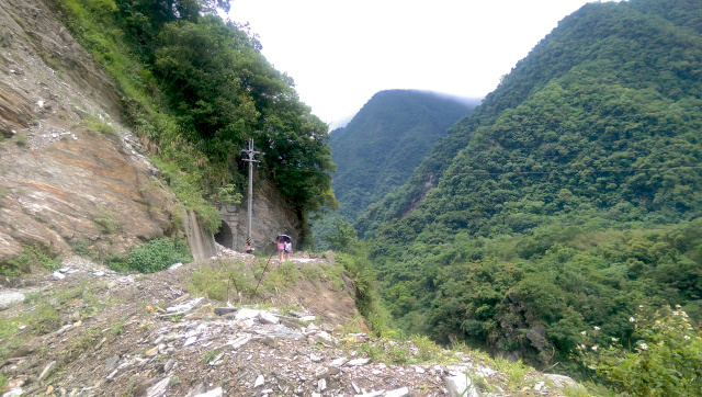 A small hike in Hualian to get to Mukumugi Taiwan