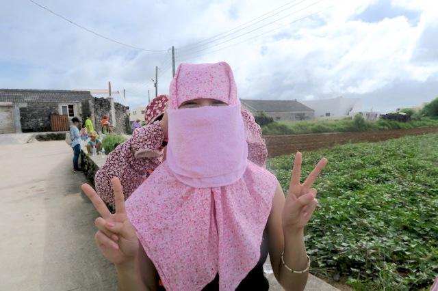 Posing as a Nanliao Masked Girl