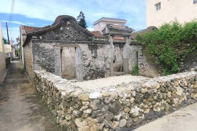 A house with Caizhai in Nanliao, Penghu