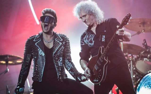 Queen and Adam Lambert in concert