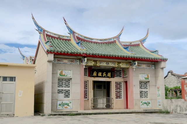 Traditional temple in Nanliao, Penghu