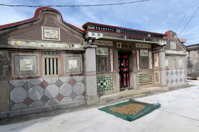 A traditional structure in Penghu Taiwan