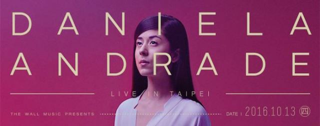 Daniela Andrade live in Taipei poster