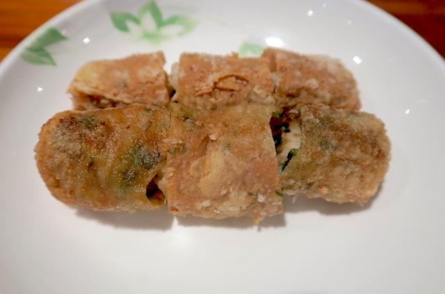 Fu Lou Restaurant's famous shrimp rolls