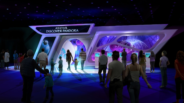 Avatar: Discover Pandora exhibition