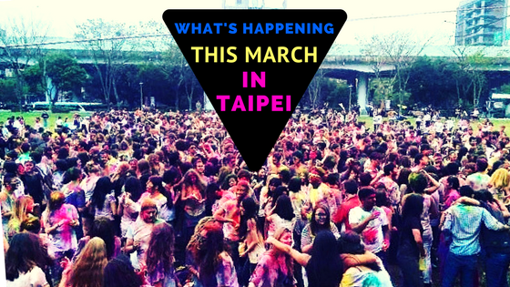 Taipei March Events