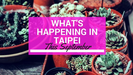 Taipei September Events Calendar