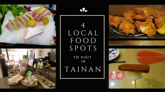 Local food spots in Tainan