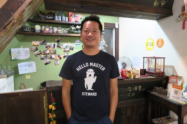 The owner of Wu's Kitchen in Tainan