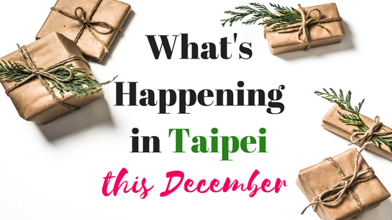 Taipei December Events calendar