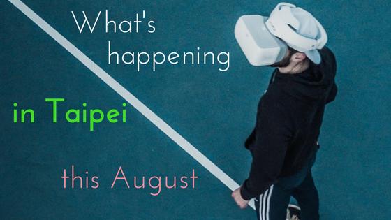August events calendar in Taipei